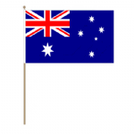 Australia Country Hand Flag - Large.